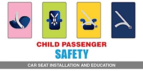 Child Passenger Safety Workshop tickets
