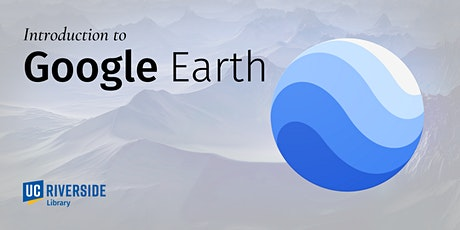 Introduction to Google Earth tickets