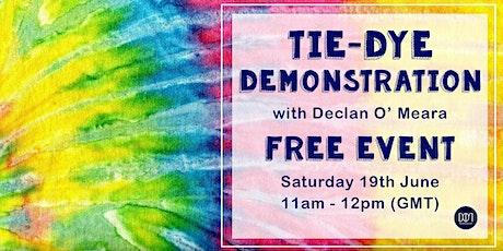 Free Tie-Dye Demonstration tickets