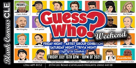 Guess Who? Group Artist Exhibition tickets