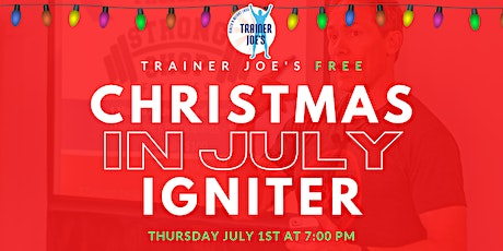Christmas in July Igniter tickets