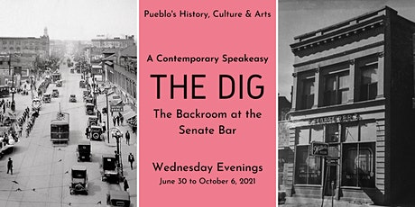 The Dig • Backroom at the Senate Bar • A Contemporary Speakeasy tickets
