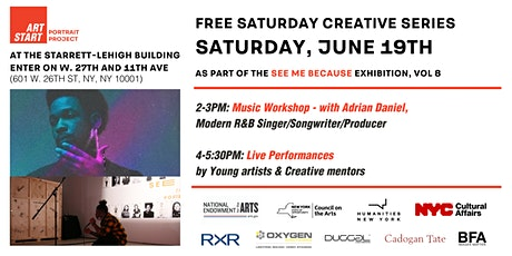 Art Start See Me Because: Saturday June 19th Creative Sessions tickets