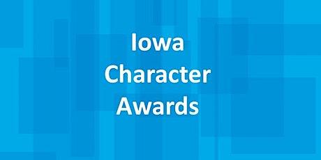 2021 Iowa Character Awards tickets