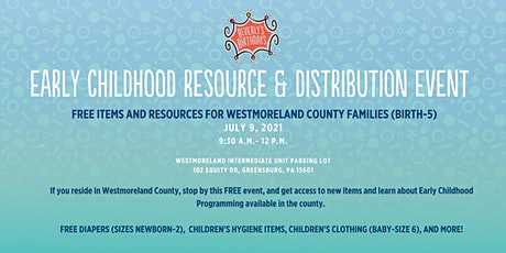 Early Childhood FREE Resource Distribution Event tickets