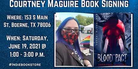 Courtney Maguire Author Talks Non-binary Characters in Romance tickets