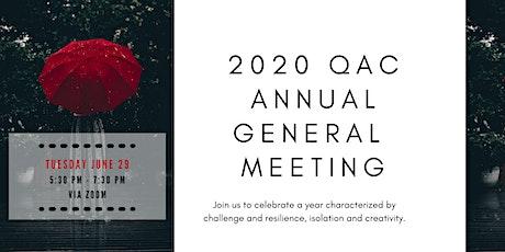 QAC 2020 Annual General Meeting tickets