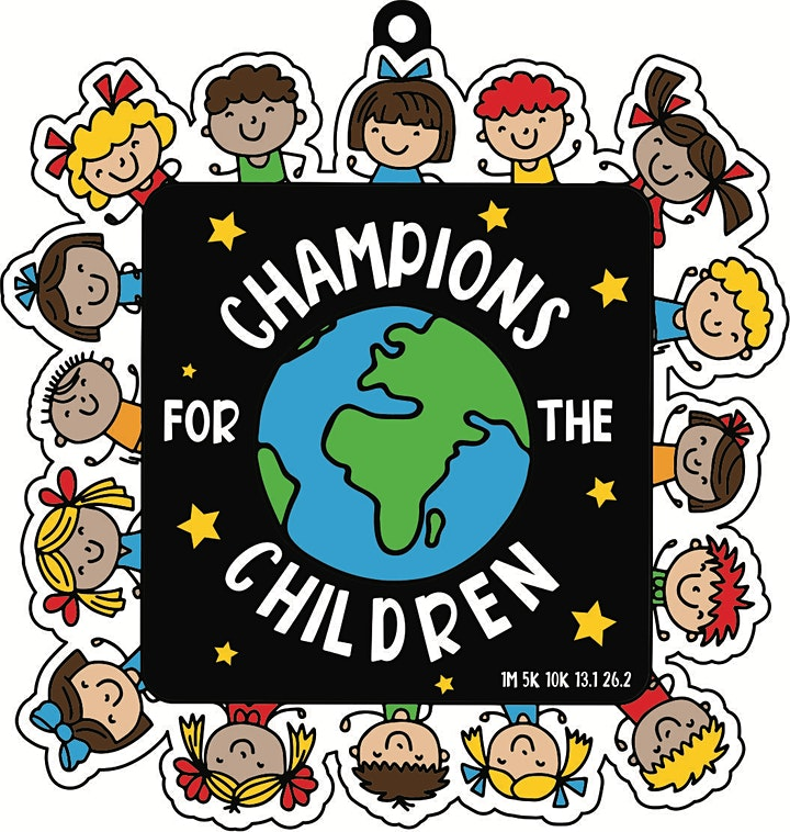 2021 Champs for the Children 5K 10K 13.1 26.2-Participate from Home.Save $5 image