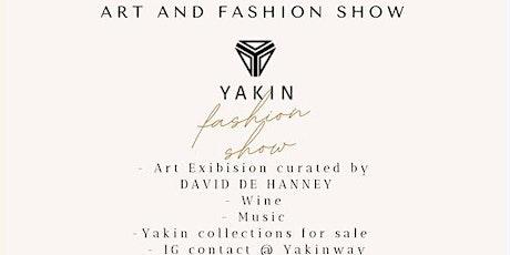 NYC ART MOVEMENT & FASHION SHOW By YAKIN Designs tickets