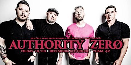 Authority Zero @ Red Moon Ale House (Yuma, AZ) tickets