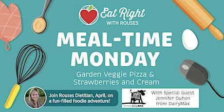Meal-Time Monday: Garden Veggie Pizza & Strawberries & Cream tickets