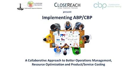 Implementing ABP/CBP - Canadian Registrants (Cdn$) tickets