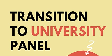 Transition to University Panel tickets
