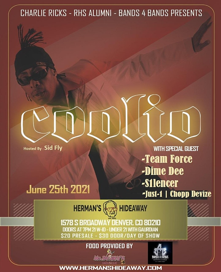 COOLIO W/SPECIAL GUEST image