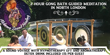 SPECIAL GONG BATH SOLSTICE GUIDED MEDITATION/HYPNOTHERAPY /EFT tickets