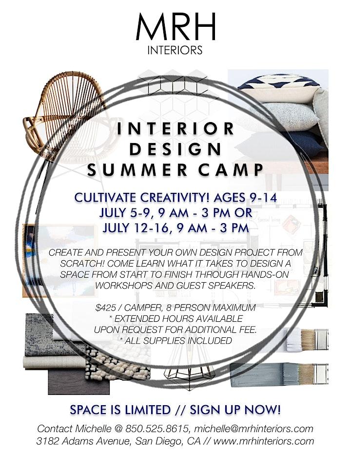 Interior Design Summer Camp for Kids image