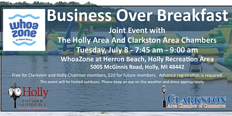 Business Over Breakfast at WhoaZone tickets