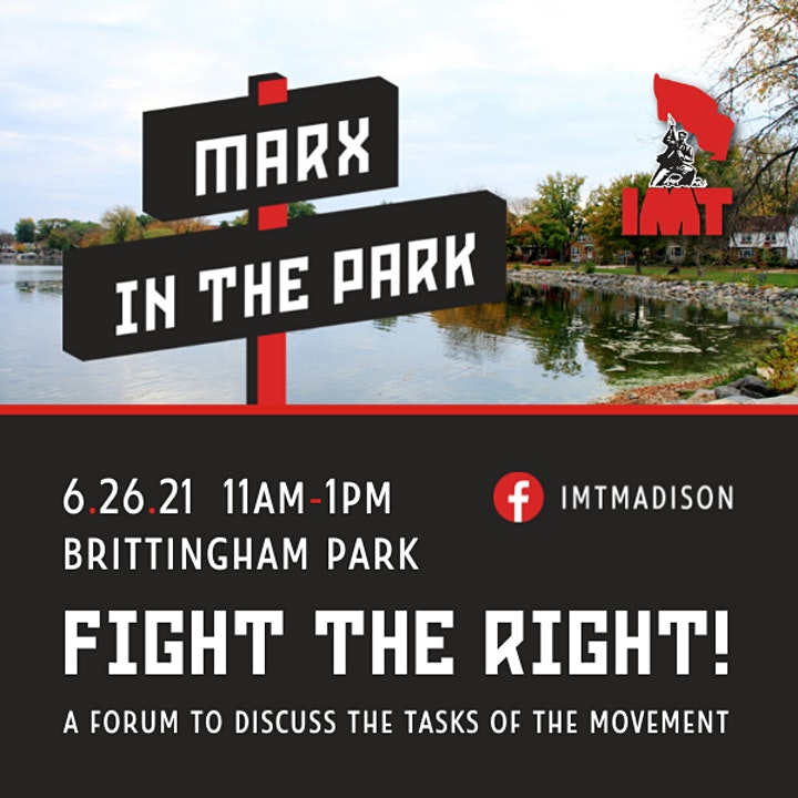 Marx in the Park: Fight the Right image