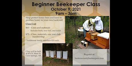 Beginner Beekeeper Class tickets