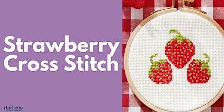Tween/Teen Craft Kit - Strawberry Cross Stitch tickets