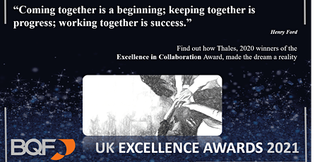 UK Excellence Award Showcase – Excellence in Collaboration with Thales tickets
