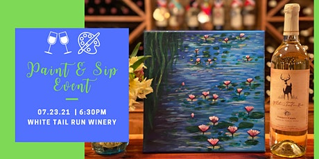 July Paint & Sip Party tickets