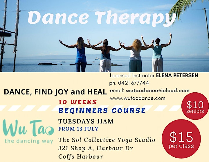 DANCE Therapy 10 weeks BEGINNERS Course image