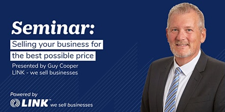 Selling your business for the best possible price - Gold Coast tickets