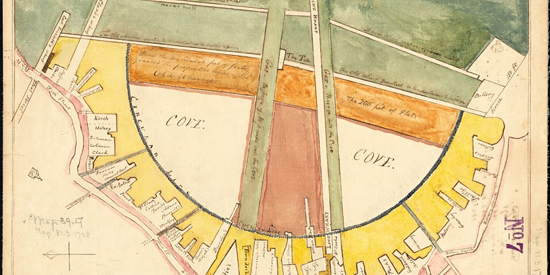 Map Show and Tell: Boston's Changing Shoreline