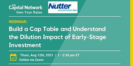 Build a Cap Table and Understand Dilution Impact of Early-Stage Investment tickets