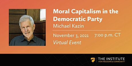 Moral Capitalism in the Democratic Party tickets