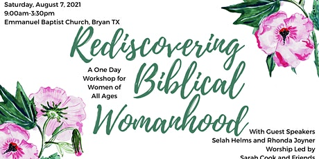 Rediscovering Biblical Womanhood tickets