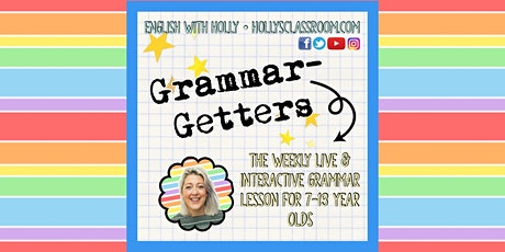 Grammar-Getters (6/7/21) The Oxford Comma tickets