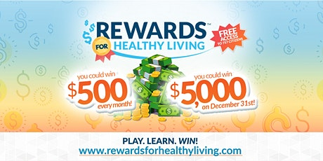 Rewards for Healthy Living: Improve Your Health Through Game-Based Learning Tickets