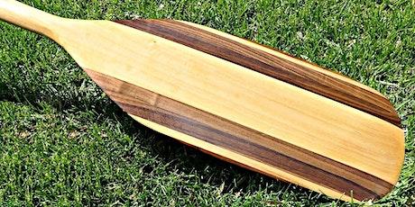 Woodshop 101 - Make a Canoe Paddle tickets
