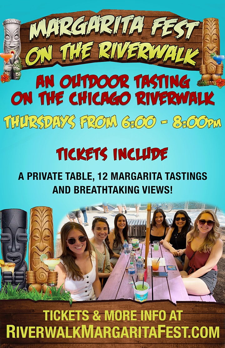 Margarita Fest on the Riverwalk - An Outdoor Tasting Experience image