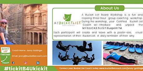 UNIVERSITY STUDENTS: ULTIMATE Bucket List Board Workshop (ONLINE) tickets