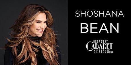 "Shoshana Bean in ""Broadway, My Way!"" tickets"