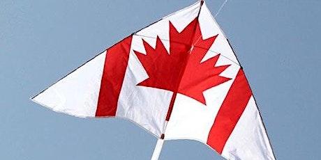 HISTOIRE VIVANTE/LIV HISTORY: Cerf volant, Fête du Canada-Canada Day kite billets