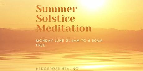 Summer Solstice Morning Meditation tickets