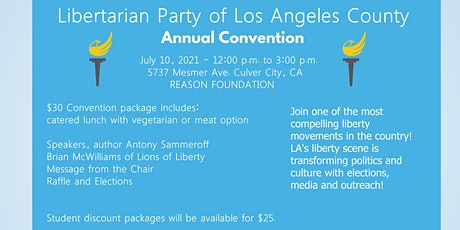LA County Libertarian Convention tickets