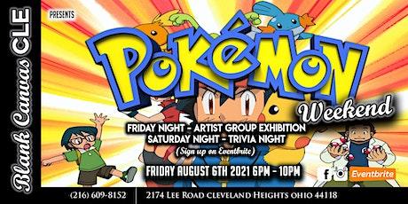 Pokemon Artist Group Exhibition tickets