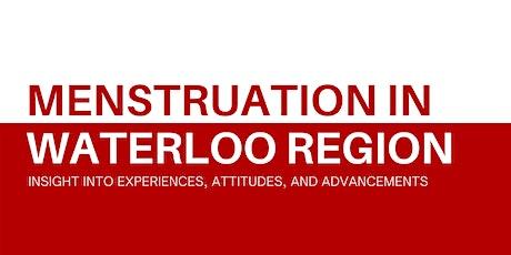Menstruation in Waterloo Region: Research Roundtable tickets