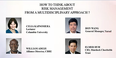 How to Think about Risk Management from a Multidisciplinary Approach? tickets