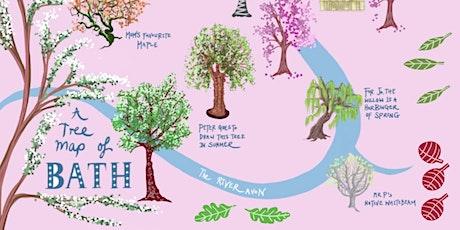 Jessica Palmer's Illustrated Tree Map of Bath   Bath City Farm tickets
