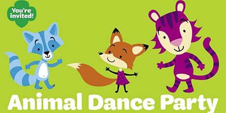 Virtual Animal Dance Party with Girl Scouts tickets