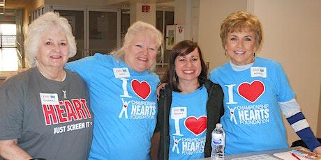VOLUNTEER July 31, 2021 at Midland Memorial for the Heart Screening tickets