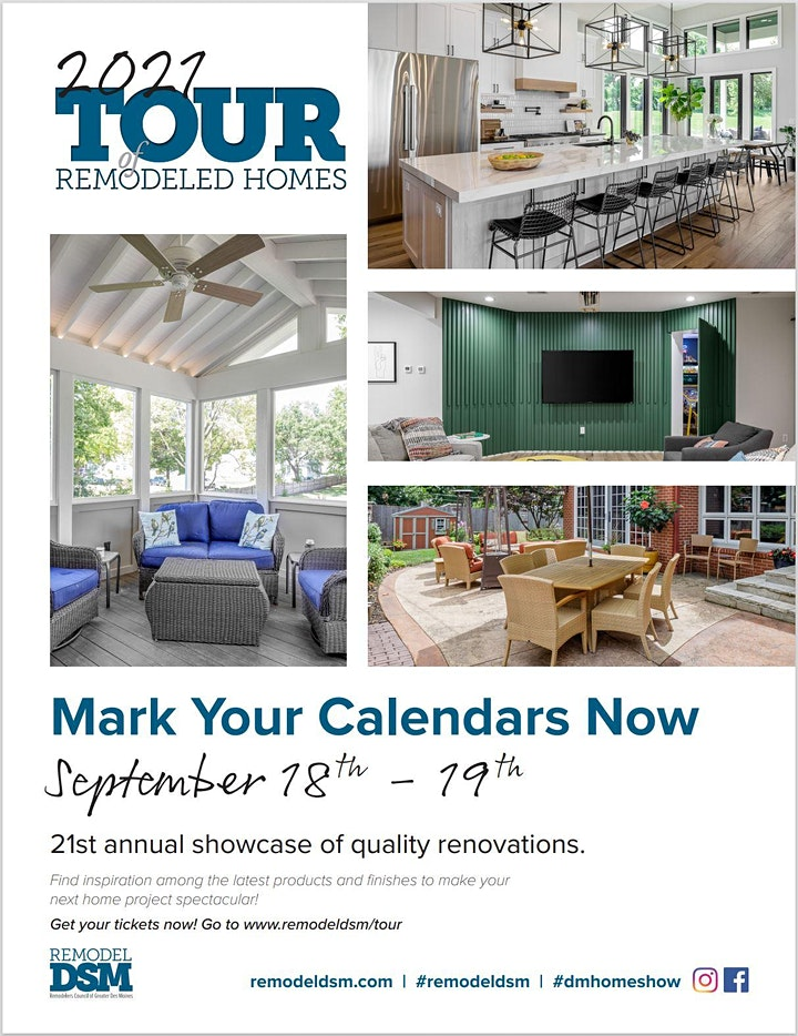 Tour of Remodeled Homes image