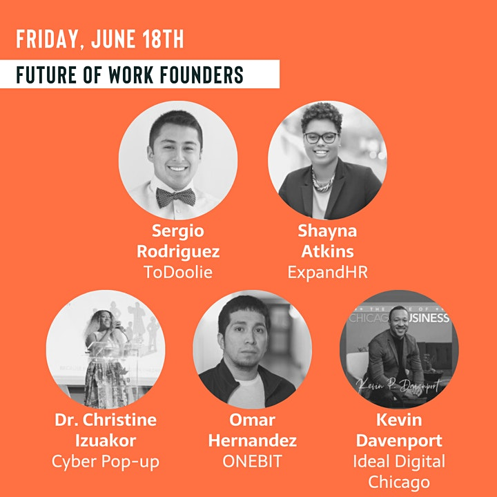 TechRise Weekly Pitch Competition - Future of Work (6/18) image