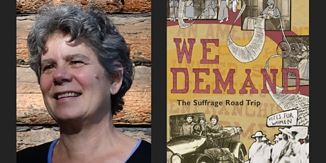 We Demand: the Suffrage Road Trip with Anne Gass tickets